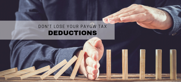 Don't lose a tax deduction for non-compliant payments to employees